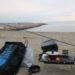 兵庫県予約不要無料BBQ場、林崎松江海岸の冬釣りキャンが最高にいい